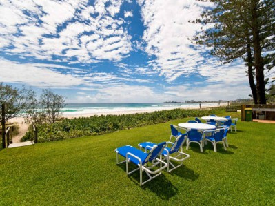 Oceanside Resort Enjoy one of the most pristine beaches in Australia, no roads to cross.