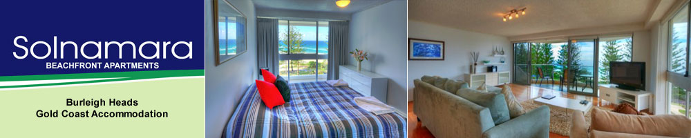 Solnamara beachfront Apartments gold coast