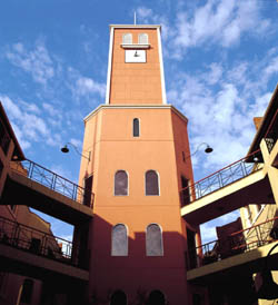 Carlton Clocktower Apartments The Clocktower is the landmark around which the Hotel is built