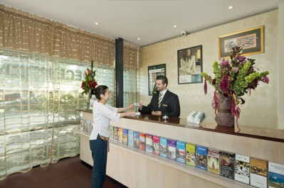 Quest Flemington Serviced Apartments Reception
