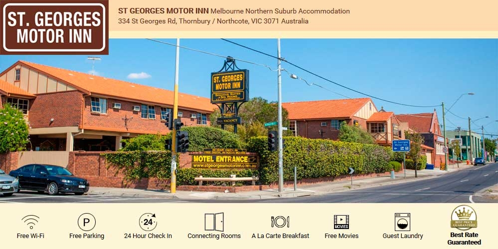 st georges motor inn thornbury australia book direct 2