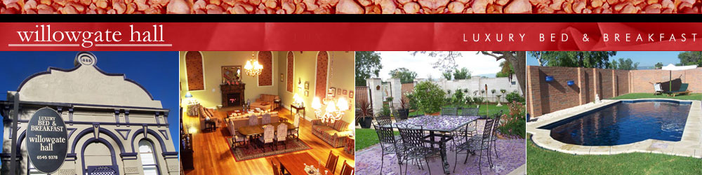 Willowgatehall Luxury Bed & Breakfast Sydney